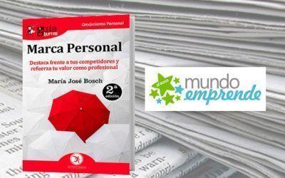 El «GuíaBurros: Marca Personal» en la web de Mundo Emprende